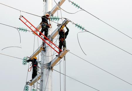 南阳电网工程