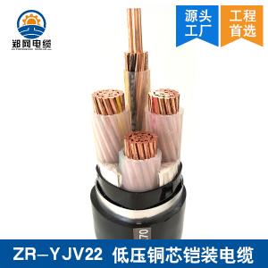 河南YJV22铜芯铠装电缆