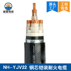 NHYJV22铜芯耐火铠装电缆