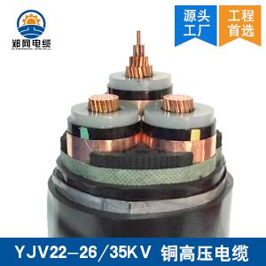 YJV22 26/35KV高压电缆