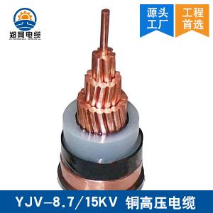 YJV-8.7/15KV高压电缆